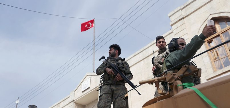 TURKISH ARMED FORCES IMPROVE SAFETY IN AFRIN