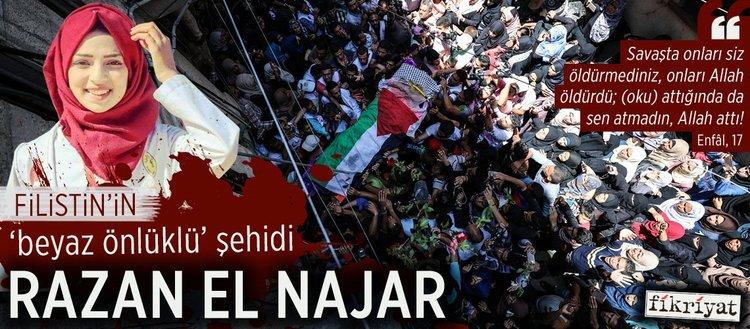"""Filistin'in """"beyaz önlüklü"""" şehidi Razan el Najar"""