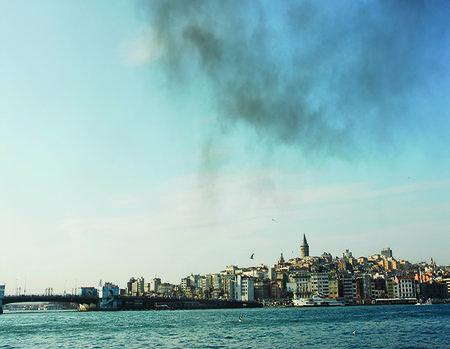 İstanbul üç parça iken