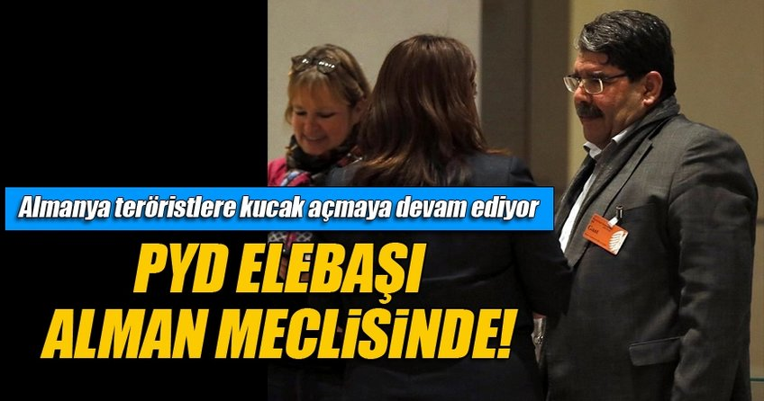 PYD'nin elebaşı Salih Müslim Bundestag'ta!
