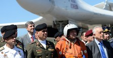 Russia sends Venezuela 2 bombers for defense exercises
