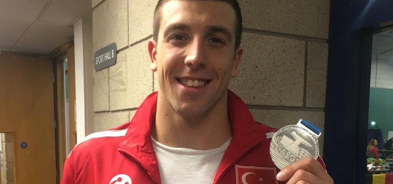 TURKISH SWIMMER WINS SILVER IN EUROPEAN TOURNAMENT