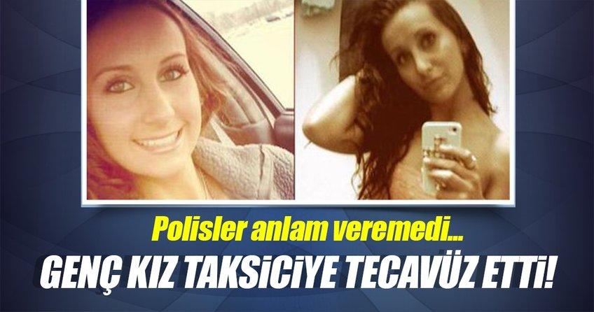 Genç kız taksiciye bıçak zoruyla tecavüz etti!