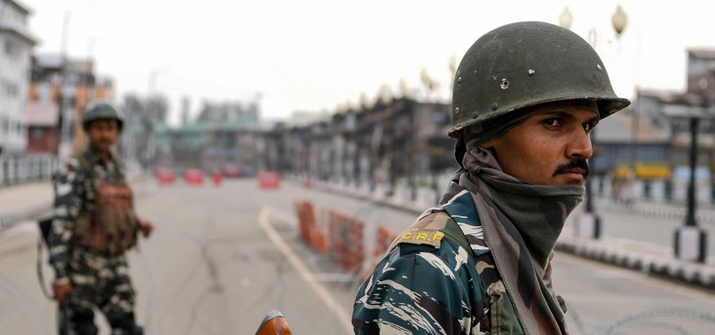 'STOP INDIA FROM MAKING DEMOGRAPHIC CHANGES IN KASHMIR'