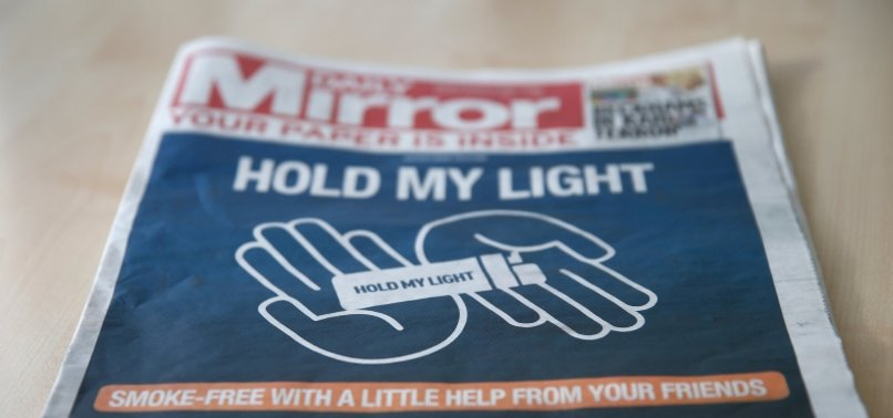 BRITISH NEWSPAPER PUBLISHER REACH TO CUT 550 JOBS