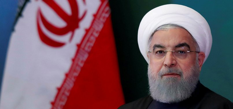 ROUHANI REJECTS TALKS, SAYS IRAN FACES U.S. ECONOMIC WAR