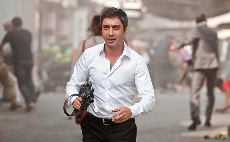 Polat Alemdar (Actor Necati u015eau015fmaz) in Valley of the Volves - Palestine movie (Sabah Photo)