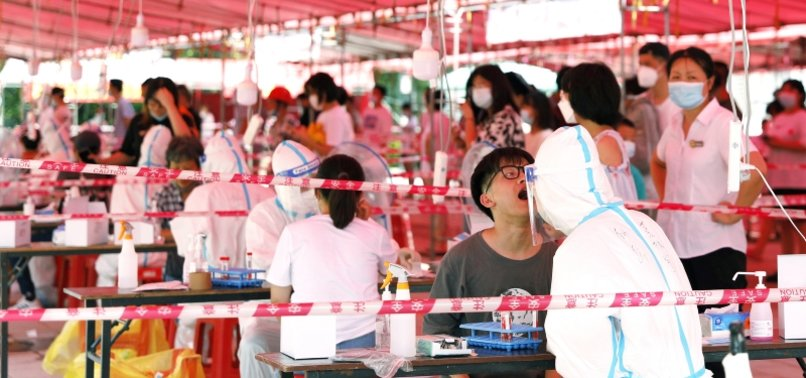 CORONAVIRUS OUTBREAK SPREADS IN CHINAS FUJIAN PROVINCE