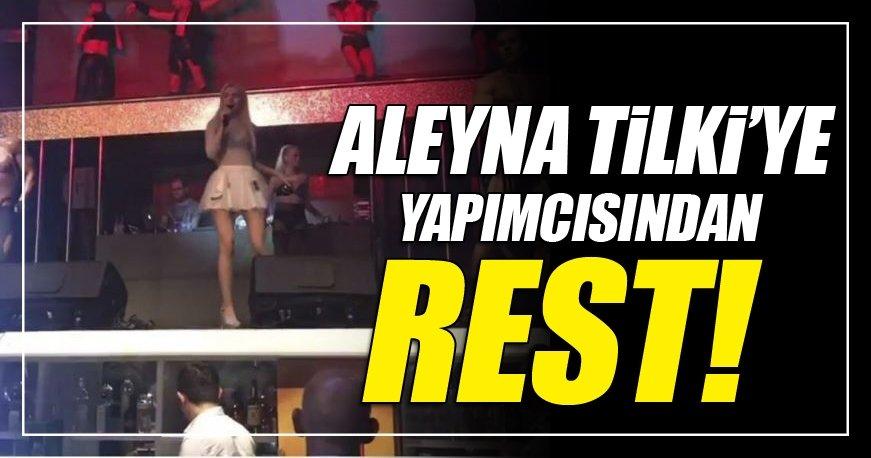 Aleyna Tilki'ye yapımcısı rest çekti!