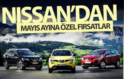 Nissan'dan mayıs ayına özel fırsatlar