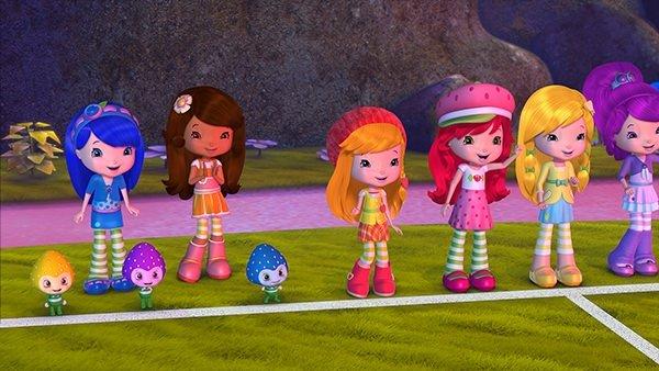 Çilek Kız ve Arkadaşları