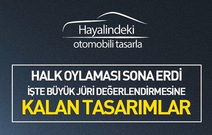 """HAYALİNDEKİ OTOMOBİLİ TASARLA"" YARIŞMASINDA HALK OYLAMASI SONA ERDİ"