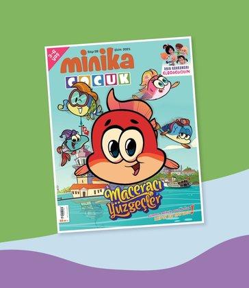 01.10.2021 Minika Çocuk Dergi - Sayı: 58