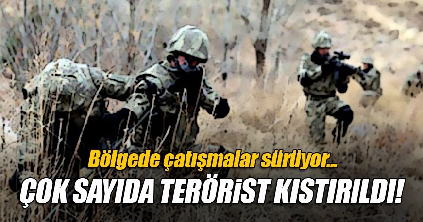 Tunceli'de çok sayıda terörist ile sıcak temas sağlandı