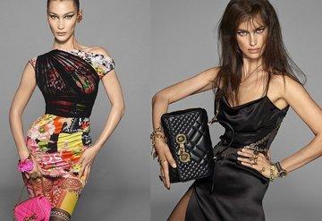 Versacenin yüzü Bella ve Irina!