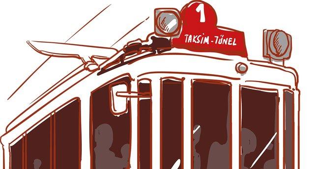 Nostalji tramvayı, çürüttün bizi
