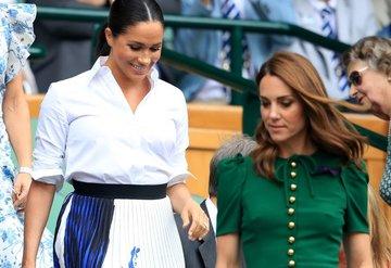 Düşesler Wimbledon finalinde