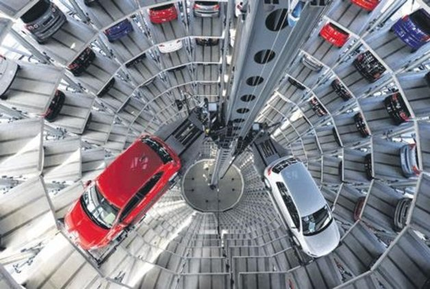 Volkswagen küçülüyor