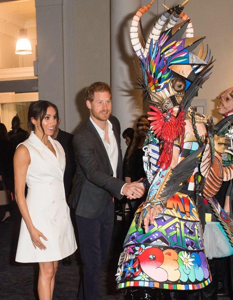 Meghan Markle ve Prens Harry Cadılar Bayramı partisinde