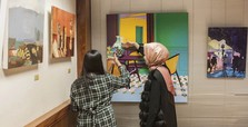 Yunus Emre Institute supports young artists in London exhibit