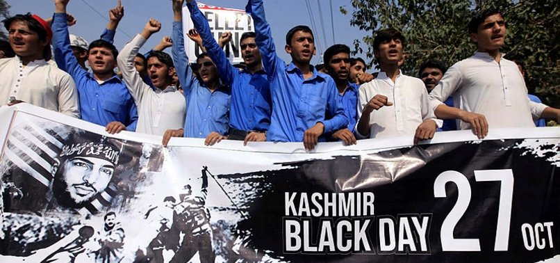 PAKISTAN MARKS BLACK DAY TO EXPRESS SOLIDARITY WITH KASHMIRIS