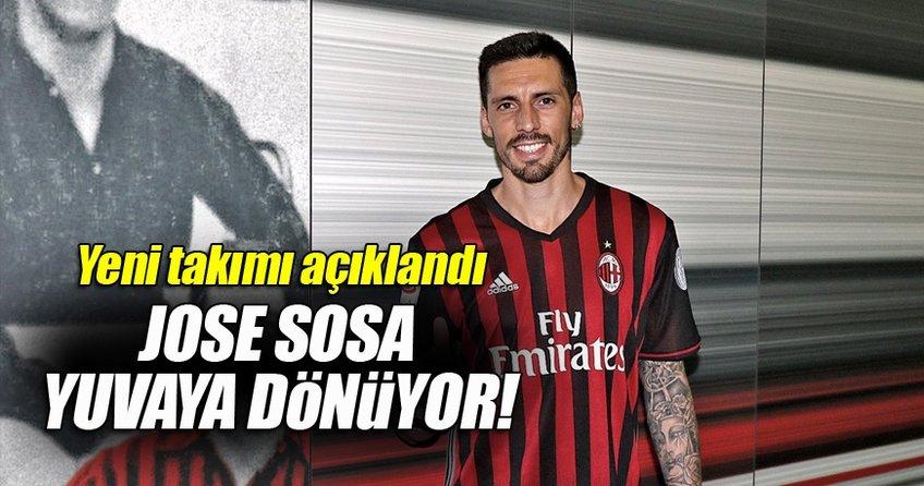 Jose Sosa eski takımına dönüyor