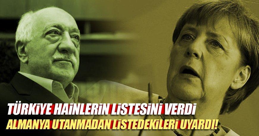 Almanya FETÖ'cüleri iade etmek yerine 'Türkiye peşinizde' diye uyardı