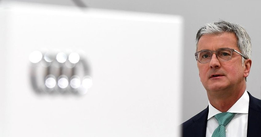 Audi CEO'suna polis baskını