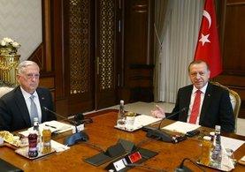 Cumhurbaşkanı Erdoğan, ABD Savunma Bakanı'nı kabul etti