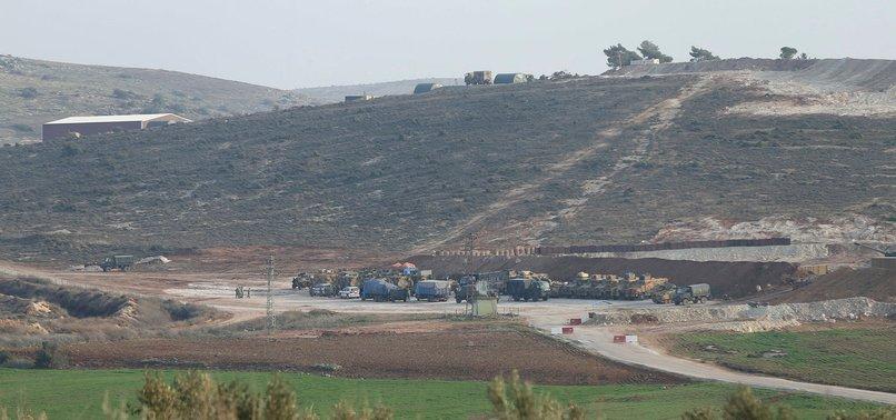 TURKEY SHELLS PKK/PYD POSTS IN SYRIAS AFRIN FOR SECOND DAY