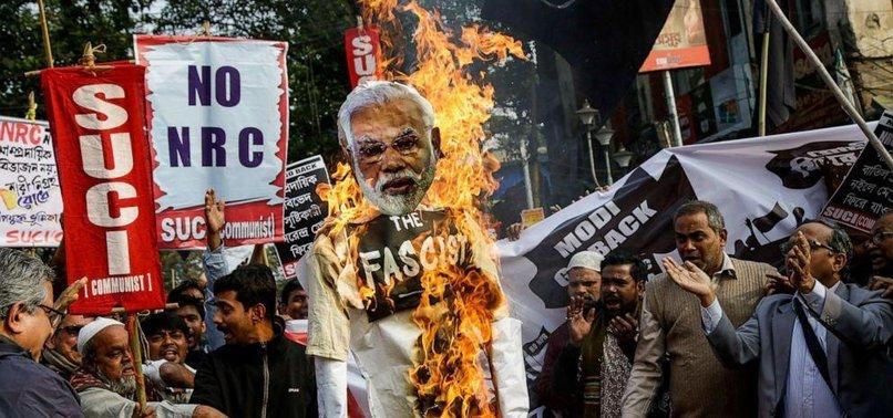 INDIAN FARMERS THREATEN TO BURN TRUMP, MODI EFFIGY