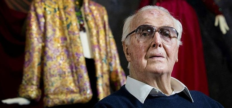 FRENCH FASHION ICON GIVENCHY DEAD AT 91