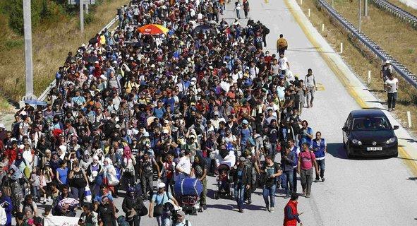 Suriyeli sığınmacılar Avrupa'ya gitmek için sabırsızlanıyor