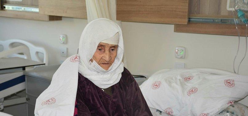 TURKEY: GRANDMA, REPORTEDLY AT AGE OF 120, BEATS VIRUS