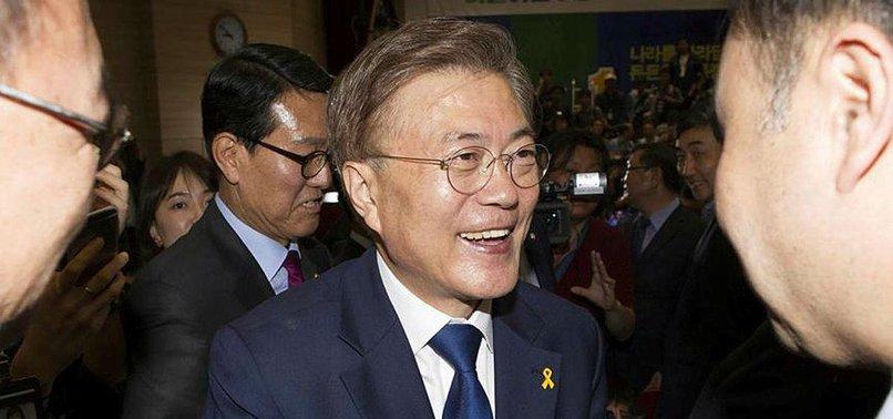 SOUTH KOREAS MOON WILLING TO MEET NORTHS KIM