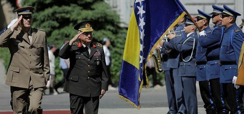 TURKEY BACKS BOSNIAS EURO-ATLANTIC INTEGRATION