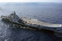 Russia to send Admiral Kuznetsov cruiser to Syria amid US's call for no-fly zones
