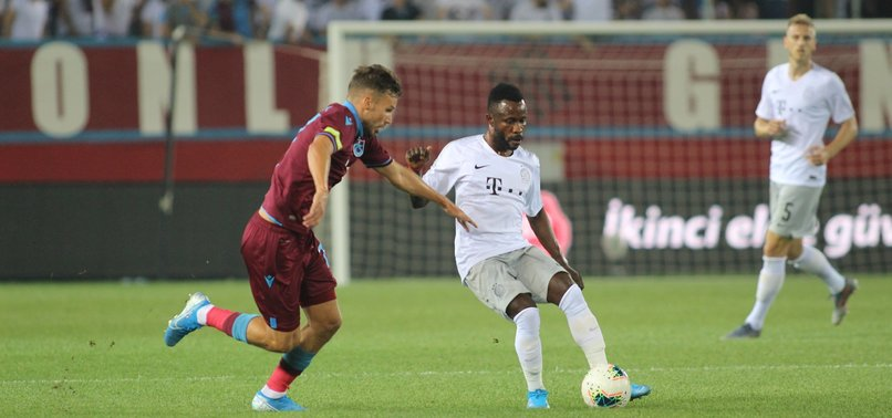 TRABZONSPOR BAGS EUROPA LEAGUE PLAYOFFS TICKET