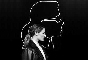 Olivia Palermo ve Karl Lagerfeld işbirliği