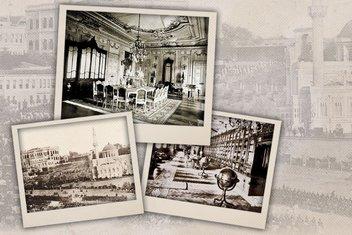 Yıldız Sarayı'nın bir asırlık fotoğrafları