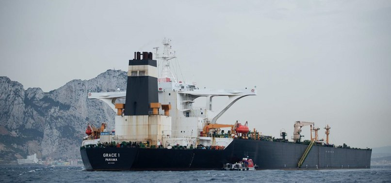 SEIZED IRANIAN TANKER 'CONFIRMED' TO CONTAIN CRUDE OIL