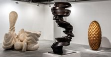 Accomplished sculptor at Istanbul Modern's temporary space