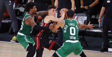 Behind Herro's 37, Miami Heat close in on Finals spot