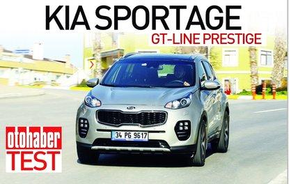 Test · Kia Sportage GT-Line Prestige