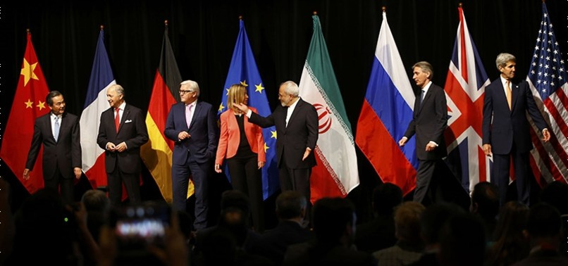 IRAN URGES READINESS FOR US WITHDRAWAL FROM NUCLEAR DEAL