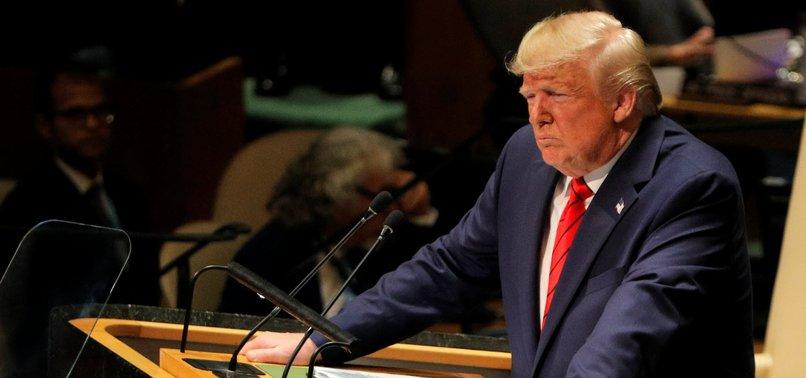 AT UN, TRUMP ATTACKS GLOBALISM, URGES PRESSURE ON IRAN