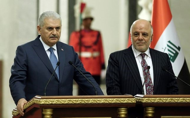 Prime Minister Yu0131ldu0131ru0131m over the weekend met with his Iraq counterpart, Haider al-Abadi, during his visit to Baghdad to discuss security issues, especially the continued PKK presence in the country.