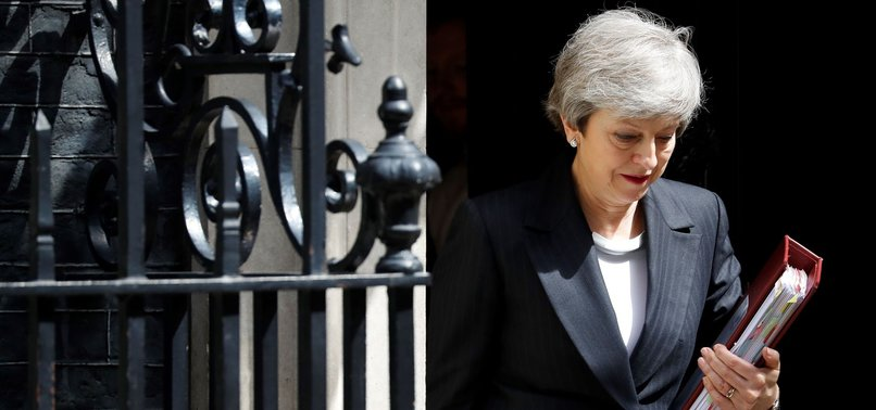 BRITISH PM MAY EXPECTED TO ANNOUNCE ON FRIDAY THAT SHE WILL QUIT, REPORTS SAY