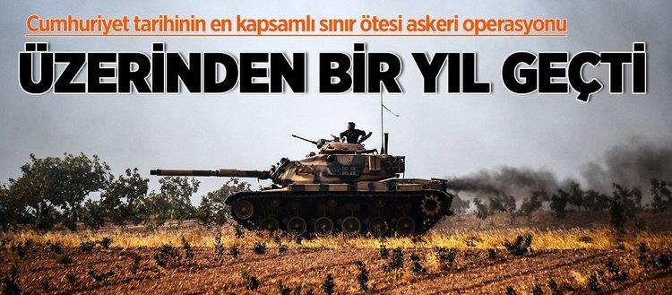 Askeri, stratejik ve siyasi kazanımlarıyla Fırat Kalkanı Harekâtı