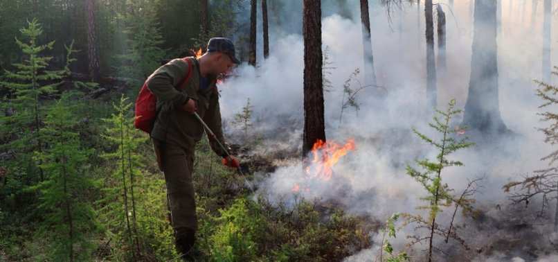 OVER 100 RUSSIAN VILLAGES ENGULFED BY SMOKE AS FOREST FIRES SPREAD